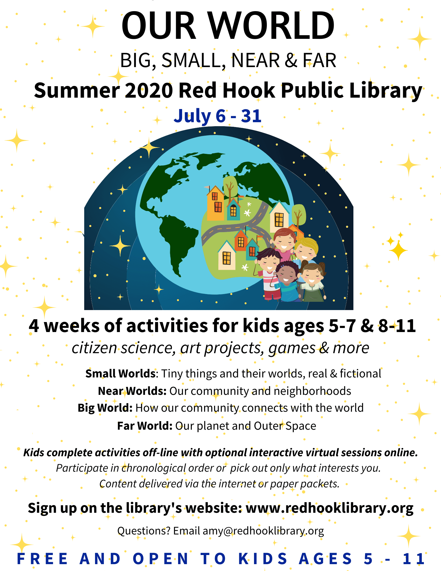 Summer 2020 Red Hook Public Library